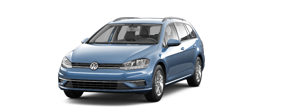 2019 Silk Blue Metallic - VW Golf SportWagen