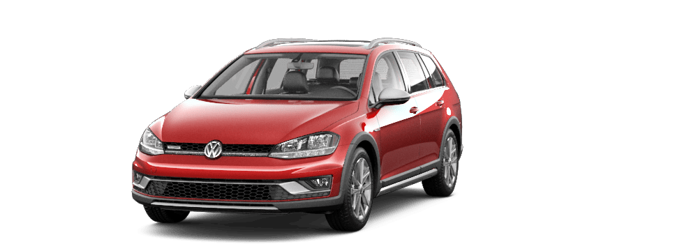 2019 Tornado Red - VW Golf Alltrack