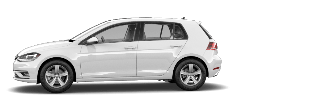 2020 Pure White - VW Golf