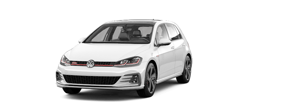 2020 Pure White - VW Golf GTI