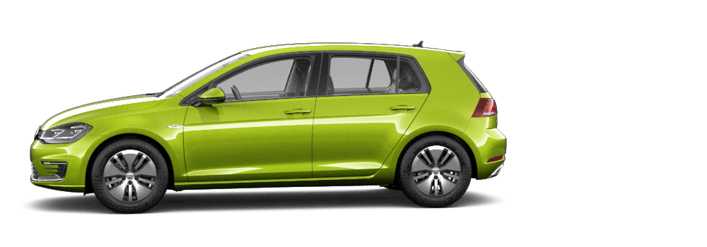 2020 Viper Green Metallic - VW e-Golf