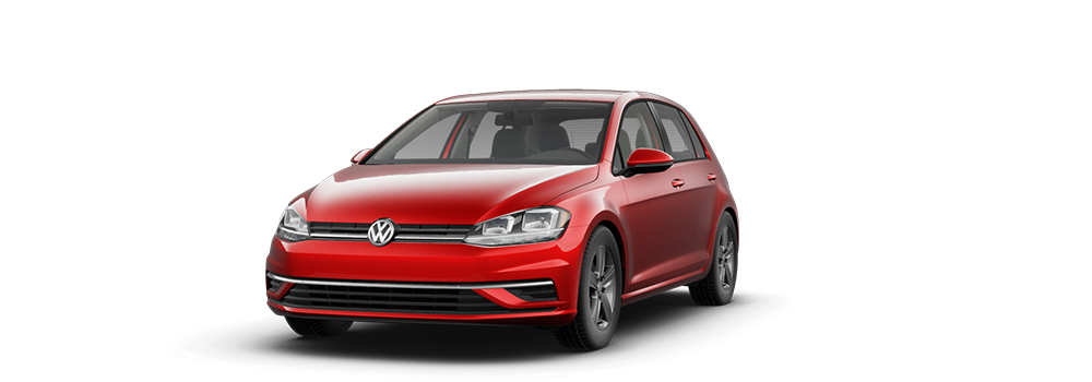 2021 Tornado Red - VW Golf