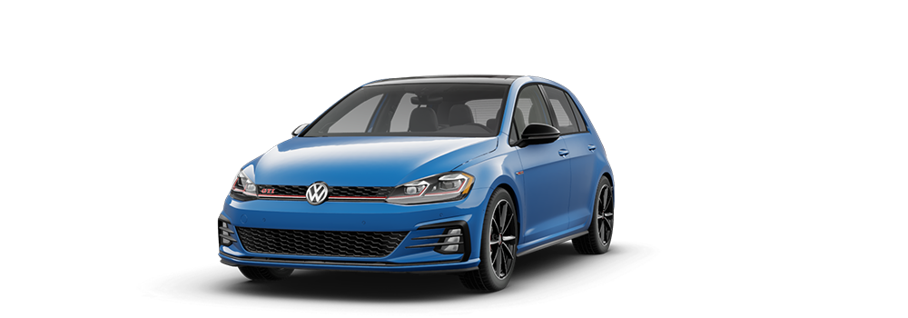 2021 Cornflower Blue - VW Golf GTI