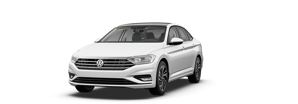 2021 Pure White - VW Jetta