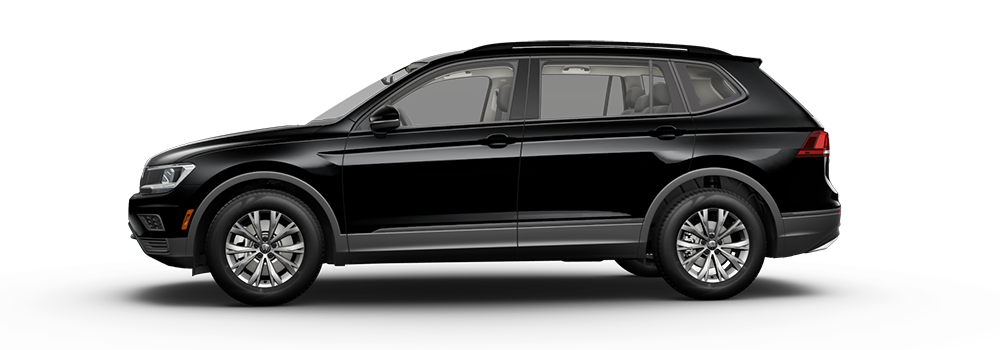 2021 Deep Black Pearl - VW Tiguan