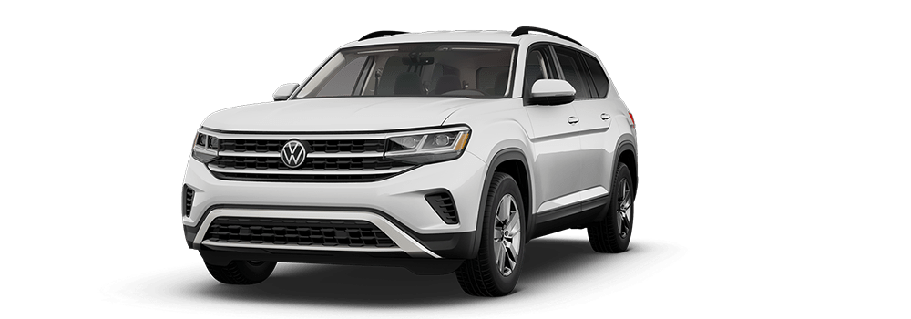 2021 Pure White - VW Atlas
