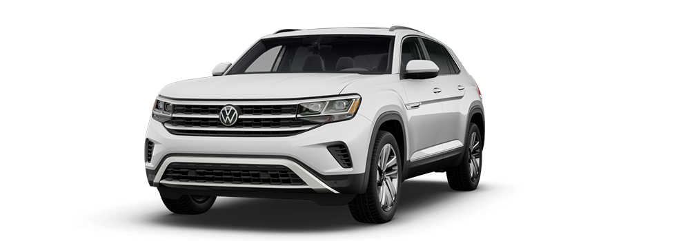 2021 Pure White - VW Atlas Cross Sport