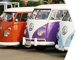 Where to find Volkswagen lovers